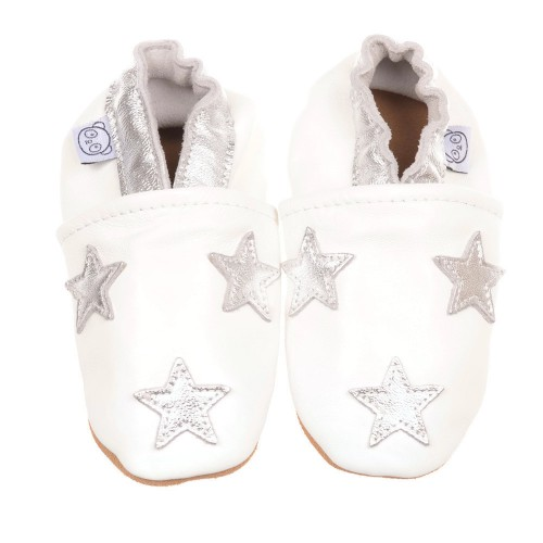 white-star-shoes